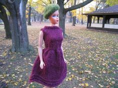 Barbie Party Dress Knitting Pattern by KellyMullanDesigns on Etsy