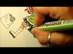 How to use ProMarkers by Kimberly Brown