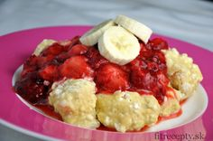 Recepty na chudnutie Archives - Page 5 of 12 - FitRecepty Fruit Salad, Mashed Potatoes, Cauliflower, Sweet Treats, Paleo, Health Fitness, Dishes, Meat, Vegetables
