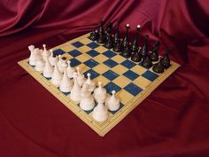 Soviet chess. Chess set. Chess USSR. Plastic от USSRovskyVintage