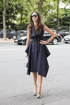 business chic in a Dior