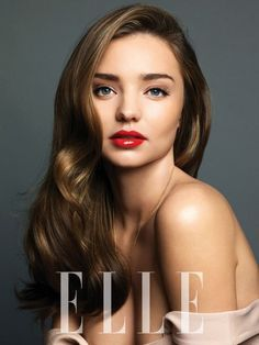 Miranda Kerr for Elle