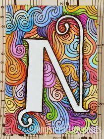 Letter Monogram Art