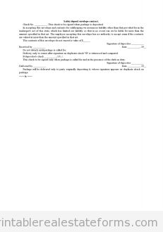 Printable Sample Affidavit Of Memorandum For Purchase And Sale