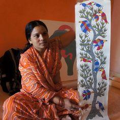 Saroj Venkat Shyam, Gond artist of India