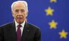Peres faz discurso histórico no Parlamento Europeu