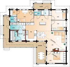 Future House, My House, Sauna, Sims, House Plans, Sweet Home, Villa, Floor Plans, Layout