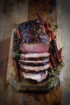Blackened Maple and Blood Orange Roast Pork Recipe