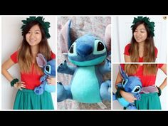 DIY: Lilo Costume. This is for Once Upon a Wednesday. This video shows how to make the headband and bracelets.