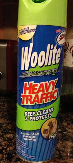 This stuff is great: It comes out in a stream of foam so I could easily run it along the grout lines. After letting it set for just a few minutes, I scrubbed along all the grout lines with a brush (or the coarse side of  a sponge would work) then wiped it all clean with a damp rag.