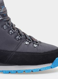 Buty The North Face Back To Berkeley Redux Lady - tnf black/mykonos blue