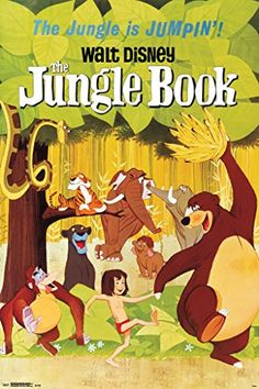 Buy The Jungle Book One Sheet Vintage Style Movie Poster 24x36 - Topvintagestyle.com ✓ FREE DELIVERY possible on eligible purchases