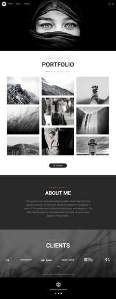 Massive Dynamic WordPress Website Builder come with 38 stunning dynamic layouts gives you the freedom of creating your very own design. Demo #Photography #artist #webdevelopment Download Now➝ http://themeforest.net/item/massive-dynamic-wordpress-website-builder/13739153?ref=Datasata