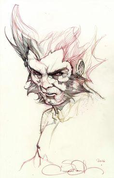 Wolverine by Simone Bianchi *