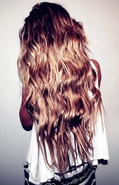 have never seen hair this long look so good
