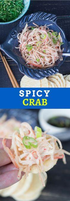 Guarda esta receta inmediatamente. Imprimela, compartela. Deliciosa receta de Spicy Crab dip o cangrejo picante.
