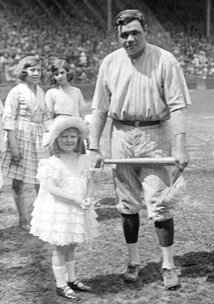 Babe Ruth~ The Great Bambino's compassion led him to charitable involvement. He started the Babe Ruth Foundation for disadvantaged children. Ruth continued to visit orphanages and hospitals, as he had throughout the years, signing autographs for children.