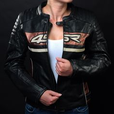 Women's Roadster Lady sport motorcycle jacket were designed and constructed for an optimized female fit. Motorbike Clothing, Motorcycle Outfit, Motorcycle Jacket, Motorcycle Leather, Leather Jackets, Bb, Trousers, Bronze, Future