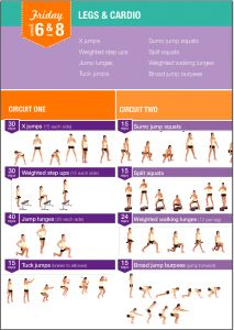 Legs and Cardio Workout | Posted By: AdvancedWeightLossTips.com