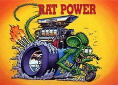Rat Fink Ed Big Daddy Roth - Rat Power
