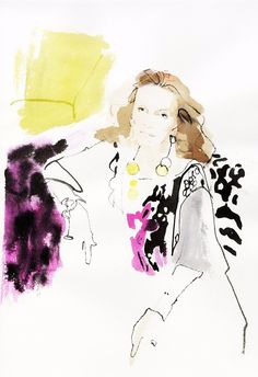 David Downton & Vanity Fair - Beauty and the Brush — News — Serlin Associates