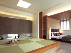 寝室 畳コーナー イメージ