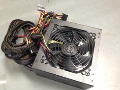 750W Gaming 120mm 4.7 Fan Silent ATX Power Supply Unit PSU 12V PS2 PCI-e Watt