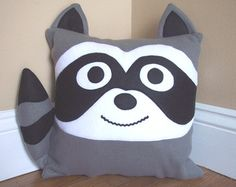 Penguin Animal Pillow by My3SillyMonkeys on Etsy