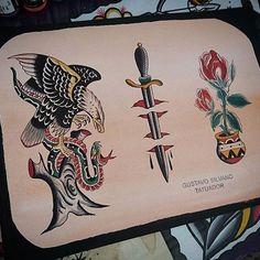 Flash by @gustavosilvanotattoo #trflash#traditional_flash#tattoo#tattooflash#traditional#traditionaltattoo#traditionalflash#tattooart#flash#art#illustration#drawing