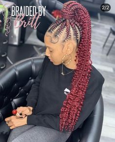 hairstyles naija braided hairstyles hairstyles lines emo hairstyles hairstyles girl hairstyles 2019 with beads hairstyles in kenya hairstyles boy Feed In Braids Ponytail, Cornrow Ponytail, Braided Ponytail Hairstyles, Braided Hairstyles For Black Women, Baddie Hairstyles, African Braids Hairstyles, My Hairstyle, Weave Hairstyles, Girl Hairstyles