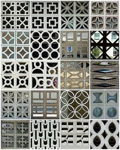 decorative garden wall blocks - Google Search