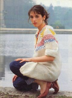Adjani par Benoit Barbier 1981 Isabelle Adjani, French Girl Style, French Girls, My Style, Nastassja Kinski, Francoise Hardy, Sophie Marceau, International Style, French Beauty
