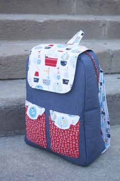 Sew Sweetness Edelweiss Backpack sewing pattern