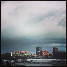 #myview Uitzicht over #Zaandam; maar nu onderweg naar #Zeddam... :-)