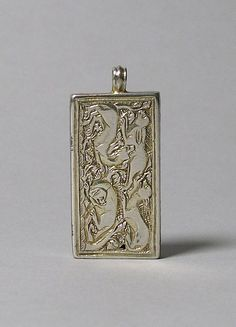 Reliquary Pendant with Hounds Coursing a Hare, late 14th century