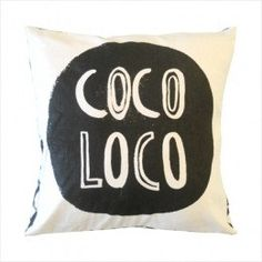 Cushion Coco Loco – Shut the Front Door! online #placesandgraces #collection