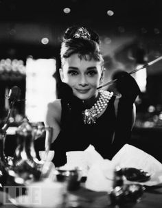 """Breakfast With Holly Golightly  Hepburn assumes the role of perhaps her most famous character, Holly Golightly, in """"Breakfast at Tiffany's"""" in 1961. """"I'm an introvert. Playing the extroverted girl was the hardest thing I ever did,"""" she said of the movie."""