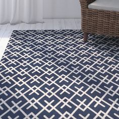 Casual and colorful Cedar Brook rugs feature an array of designs from vintage folk art to modern geometrics and classic Moroccan tile motifs. Hand-loomed in an innovative weave, patterns are printed on cotton pile to achieve their clear, brilliant hues.