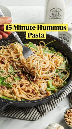 Vegan Dinner Recipes, Vegan Dinners, Whole Food Recipes, Vegetarian Recipes, Cooking Recipes, Healthy Recipes, Vegetarian Pasta Recipes, Dinner Dishes, Pasta Dishes