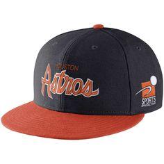 9348f83379b48 Men s Houston Astros Nike Black Orange Pro Cap Sport Specialties Snapback  Adjustable Hat