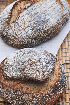 Citrus Pan au Levain with Poppy and Sesame Seeds | BBB - Ever Open Sauce
