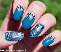 Rakkaus Kynsiin: Tahdon olla vesiputous Nail Art, Nails, Beauty, Finger Nails, Ongles, Nail Arts, Beauty Illustration, Nail Art Designs, Nail