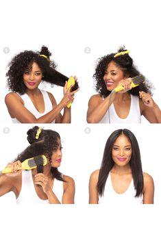 Drybar The Brush Crush Heated Straightening Brush Beauty Tips And Secrets, Beauty Hacks, Natural Hair Care, Natural Hair Styles, Nourishing Shampoo, Protective Hairstyles, Braid Hairstyles, Hairdos, Flat Iron