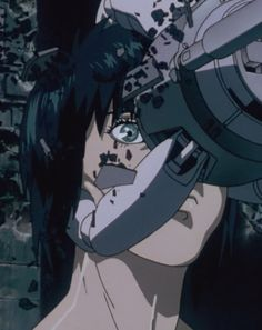 Ghost in the Shell by Mamoru Oshii Manga Anime, Anime Art, Anime Ghost, Masamune Shirow, Motoko Kusanagi, Ghost In The Shell, Sci Fi Art, Japanese Art, Aesthetic Anime