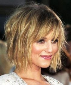short layered bob hairstyles photos