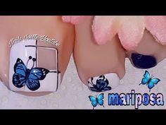 Decoración de uñas MARIPOSA en tendencia, acompañado de un estilo geométrico - YouTube Nails, Videos, Youtube, Lps Pets, Fingernail Designs, Trends, Style, Finger Nails, Ongles