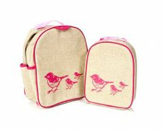 Gorgeous gorgeous gorgeous toddler backpack and lunchbox spotted at Not Another Baby Shop