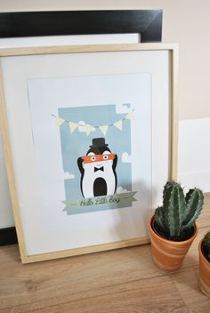 Poster pingouin