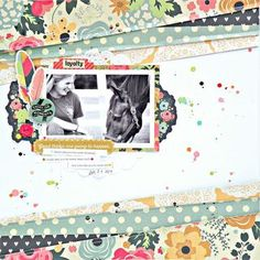 A Crate Paper Layout- A Lovely Day Together | My Bits of Sunshine | Bloglovin
