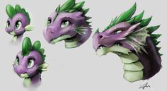Spike Age Thingy by SilFoe on DeviantArt